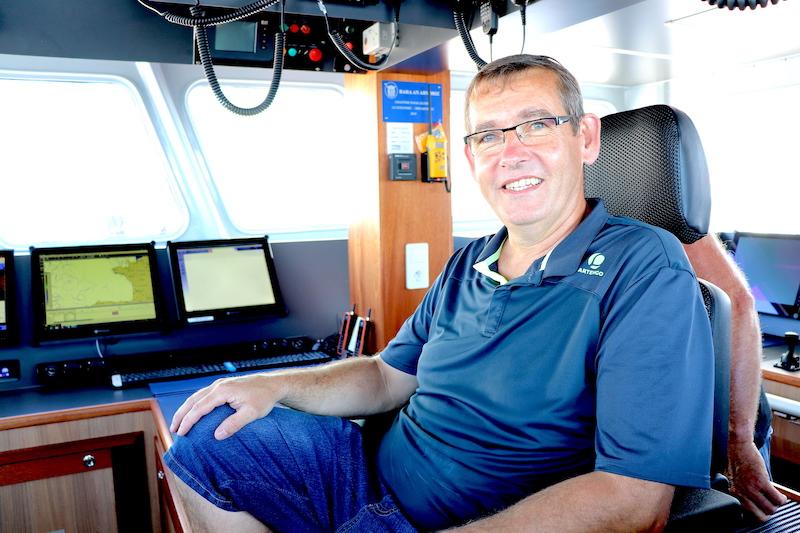 Gilles Lazard, patron du Bara An Arvoriz