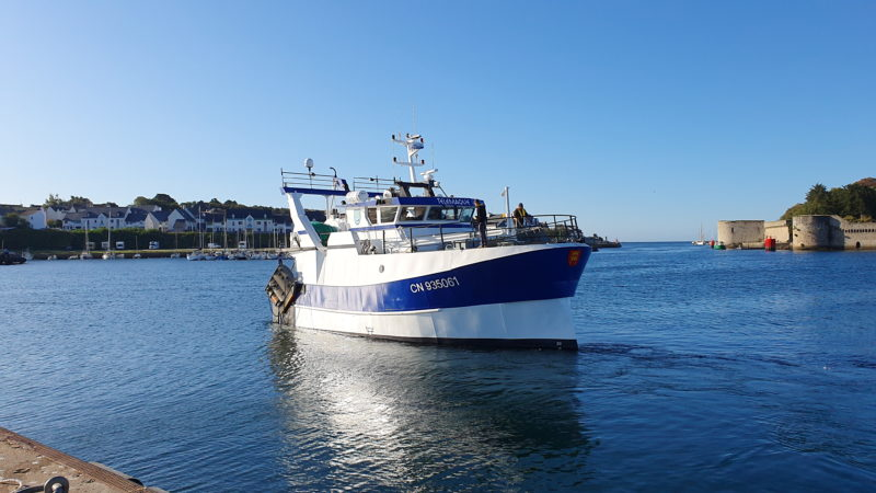 Le Télémaque 2 en mer
