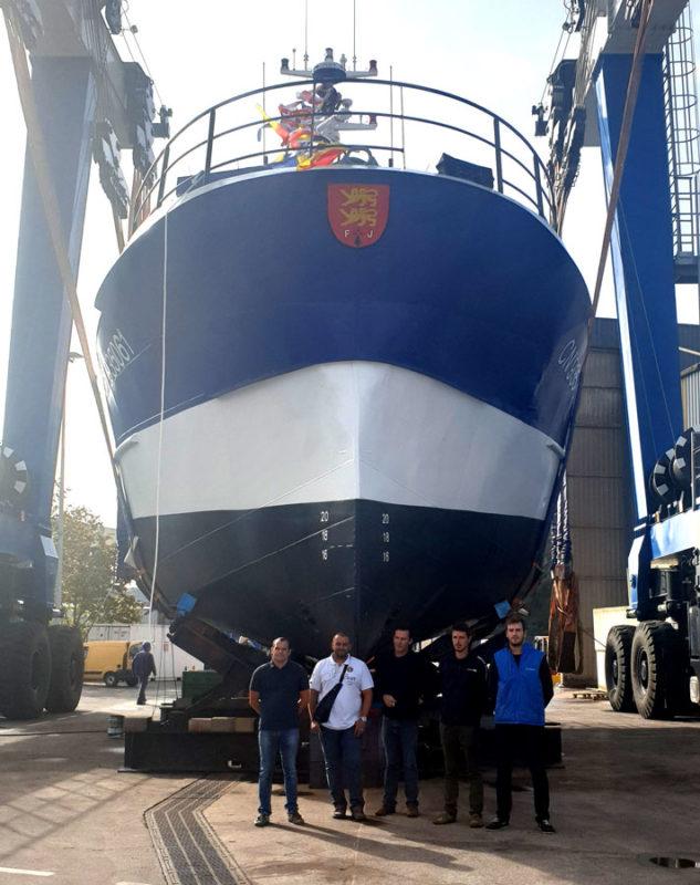 Télémaque 2 et son équipage