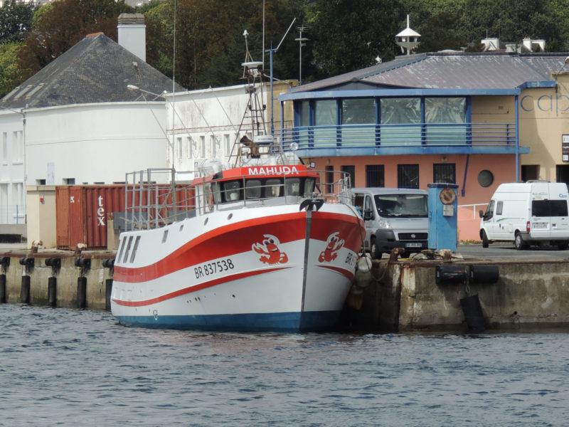 le mahuda à quai